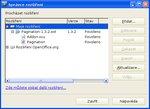 Správce rozšíření ve verzi 2.x
