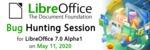 Logo akce Bug Hunting Session, konané 11. 5. 2020