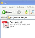 PDF súbor v priečinku